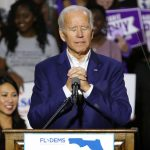 Joe Biden started tearing up after talking to a nurse about treating COVID-19 patients in ICU