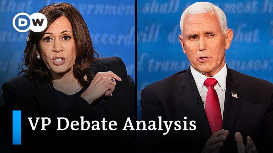 Key takeaways from the Vice Presidential debate –  2020 VP debate analysis | DW News