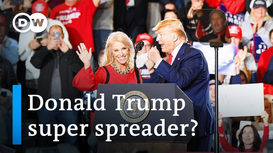 Donald Trump: Coronavirus super spreader?   DW News