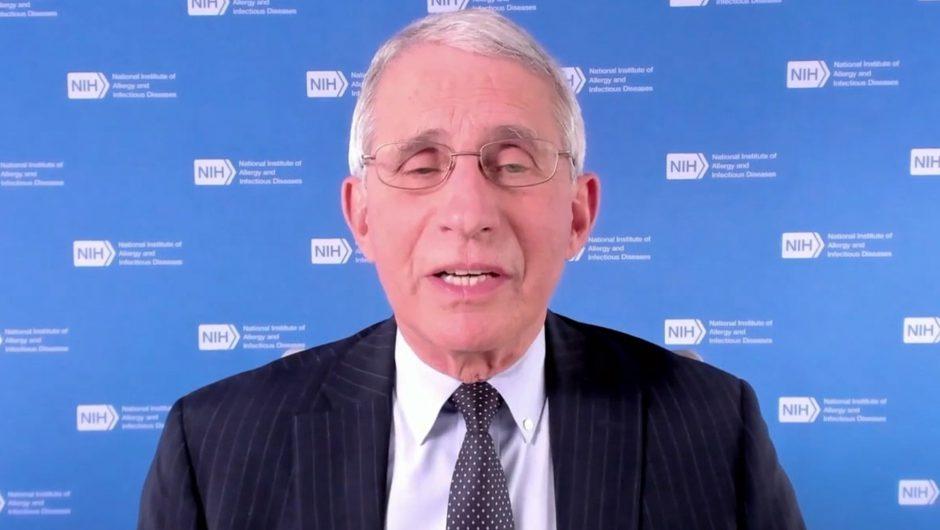 Fauci touts vaccine, warns US must overcome COVID-19 denial