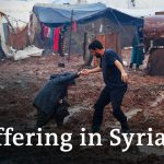 Crisis in Syria: Refugees in Idlib camps face war, weather and Covid   DW News