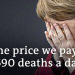 Merkel gets emotional in speech   DW News