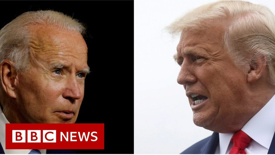 US election 2020: Trump and Biden face voters' questions – BBC News
