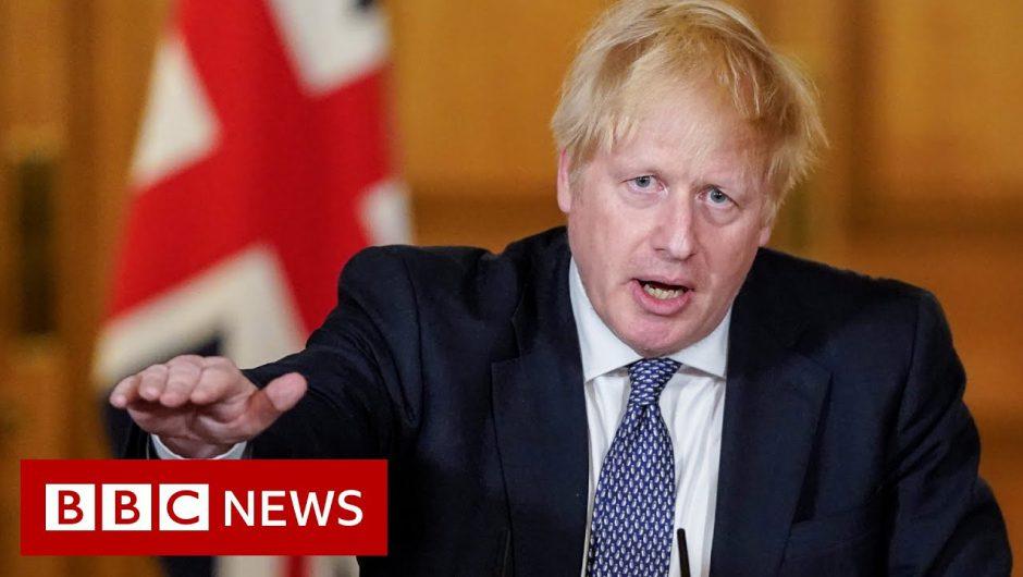 Coronavirus: UK is 'past the peak' says PM Boris Johnson – BBC News