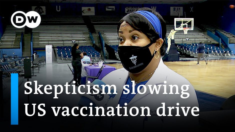 Rate of vaccinations slowing down in US | DW News