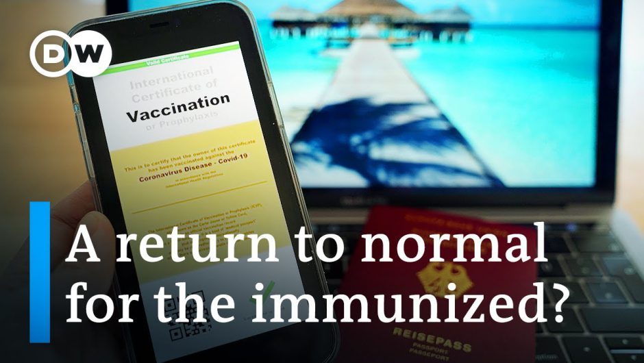 EU leaders agree to introduce COVID-19 vaccine passports | DW News