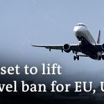 The US will lift its travel ban on fully vaccinated visitors from the EU and UK | DW News