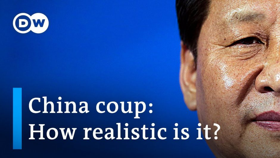 Author claims China's Xi Jinping could be removed from office | DW News